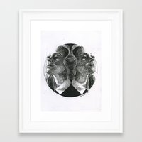 coven Framed Art Prints featuring Coven by Kimberly Christie