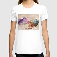 las vegas T-shirts featuring Las Vegas skyline art by jbjart