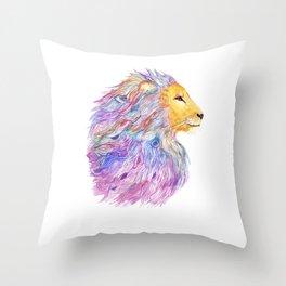 A Roaring Cascade Throw Pillow