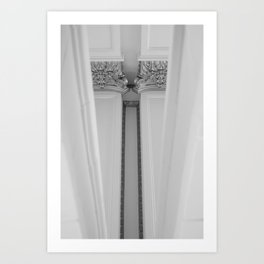 Detailed Support: Inverted Art Print