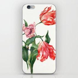 Sweet tulips iPhone Skin