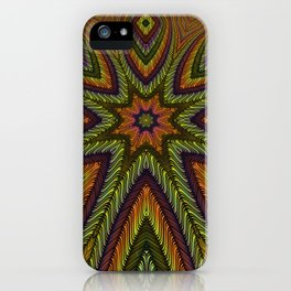 Kaleidoscopic vol. I: The Three-Eyed Golden Octopus iPhone Case