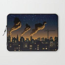 Industrial Town Laptop Sleeve