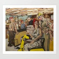 Thriftway Art Print