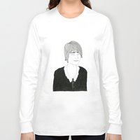 sister Long Sleeve T-shirts featuring another sister by David Penela