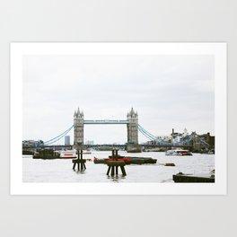 London Bridge (Ain't Falling Down) Art Print