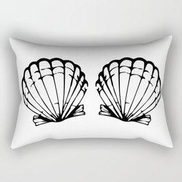 Mermaid Beach Shell Bikini Carnival BH Gift Idea Rectangular Pillow