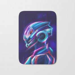 Neon Sara Ryder - Fan Art Bath Mat
