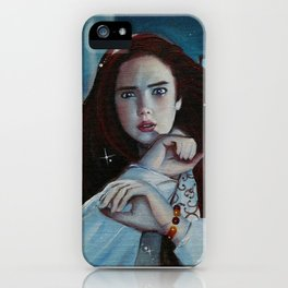 Say Your Right Words iPhone Case