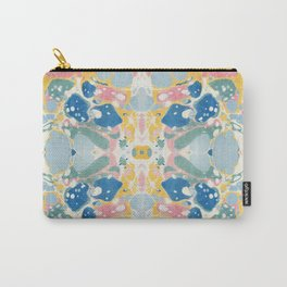 Vintage Marbled Paper Carry-All Pouch
