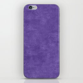 Ultra Violet Oil Pastel Color Accent iPhone Skin