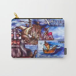 Burundi 2012 Ships Medieval Navigators Carry-All Pouch
