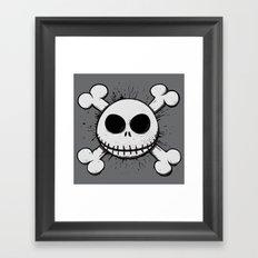 Jack Skull Framed Art Print