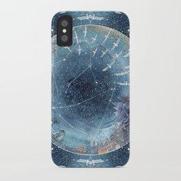 Capricorn & Aquarius friendship iPhone Case