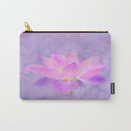 Lotus Emerging from the Water Carry-All Pouch