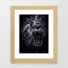 King of the Queen City Framed Art Print