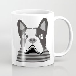 borris the french bulldog Coffee Mug