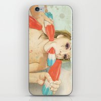 dude iPhone & iPod Skins featuring Bombs Away by keith p. rein