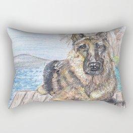 Bayside View Rectangular Pillow