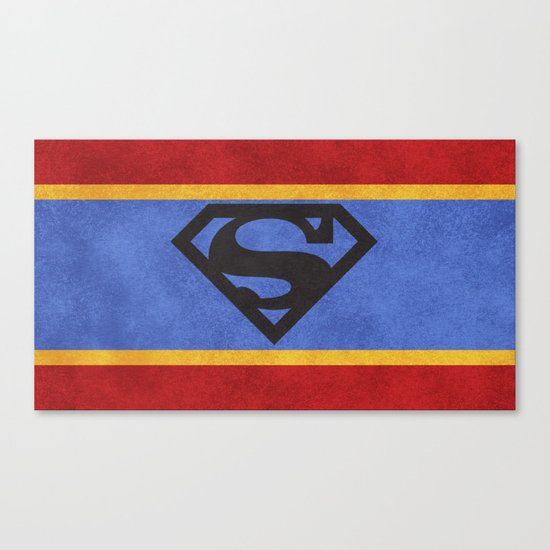 Super Colors Canvas Print