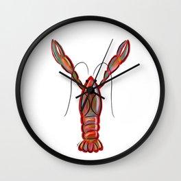King Crawfish Wall Clock