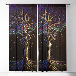 Tree Goddess Blackout Curtain