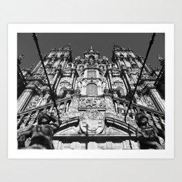 Santiago de Compostela | Cathedral Art Print