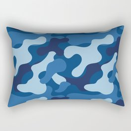 Winter Camo Pattern 2 Rectangular Pillow