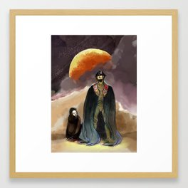 Paul Muaddib Framed Art Print