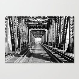 Train Bridge Canvas Print