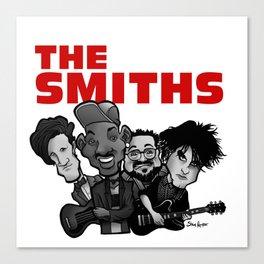The Smiths (white version) Canvas Print