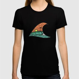 Wave in a Wave - Teal T-shirt