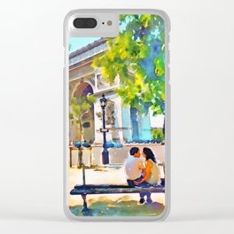 The Arc de Triomphe Paris Clear iPhone Case