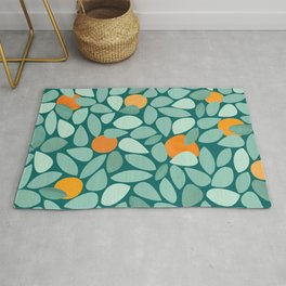 Sunny Orange Grove Rug