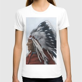 Lazy Boy - Blackfoot Indian Chief T-shirt