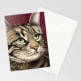 Tabby Cat Stationery Cards