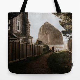 Cozy Cannon Beach, Oregon Tote Bag