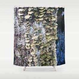 Fungus Tree Shower Curtain