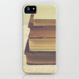 Vintage Book Love iPhone Case