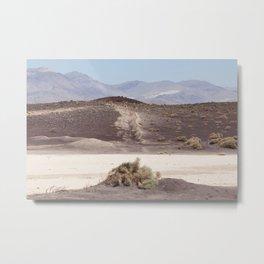 In Transit (Fossil Falls, California) Metal Print