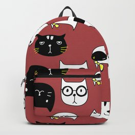 Cats ver Backpack