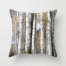 Wander in the Woods Throw Pillow