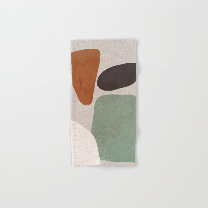 Abstract Shapes 12 Hand & Bath Towel