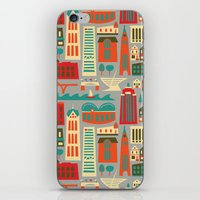 milwaukee iPhone & iPod Skins featuring My Fair Milwaukee by AllisonBeilke