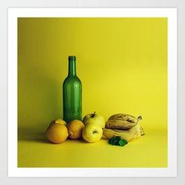 Lemon lime - still life Art Print
