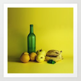 Lemon lime - still life Art Print