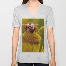 Bee Buzzy Unisex V-Neck