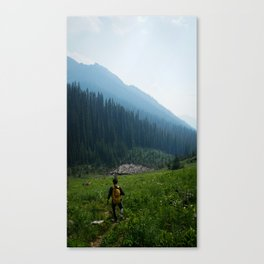 In the Haze Canvas Print