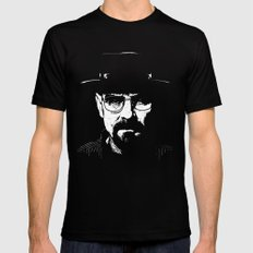 BREAKING BAD - Heisenberg. Mens Fitted Tee Black LARGE