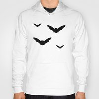 bats Hoodies featuring Bats by Jessica Slater Design & Illustration